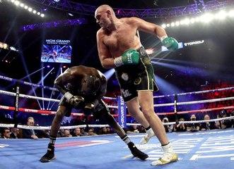 Tyson Fury Defeats Deontay Wilder in TKO Win