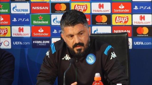 """Ligue des Champions: 8es - Naples - Gattuso : """"Le Barcelone que j'ai affronté en tant que joueur venait d'une autre planète"""""""