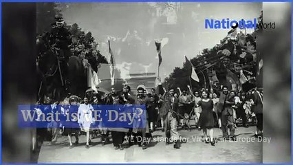 VE Day: 75th anniversary of the end of World War 2