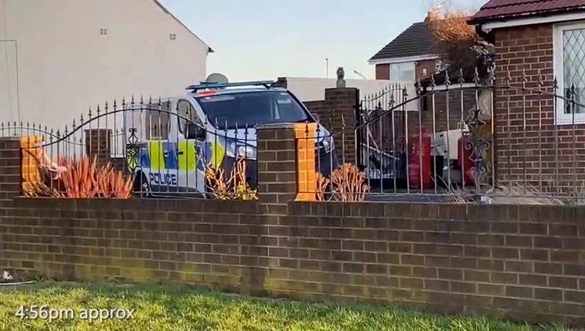 Tunstall murder probe as body found after garage fire