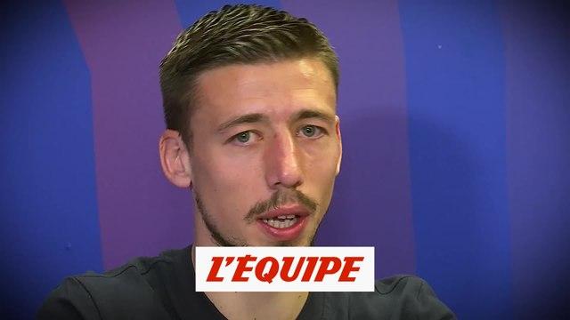 « L'entretien » avec Clément Lenglet (extrait) - Foot - ESP - Barça