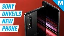 Sony's Xperia 1 II has both 5G and triple rear camera