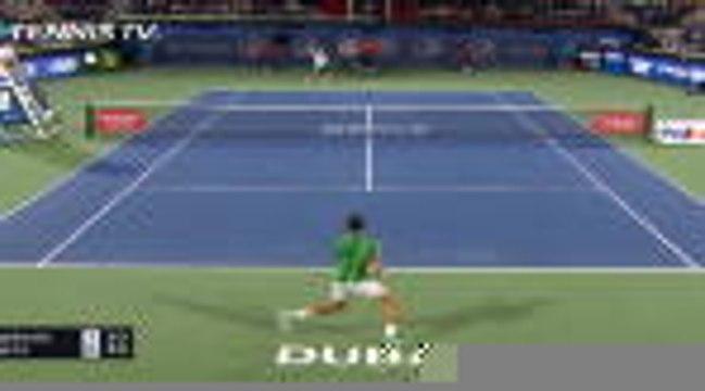 ATP : Dubaï - Djokovic tranquille au 1er tour