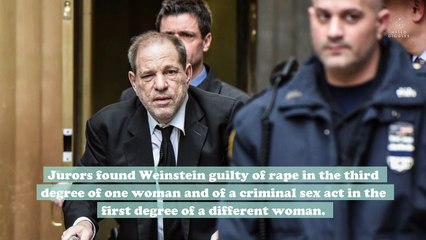 Jurors have reached a verdict in the Harvey Weinstein rape case