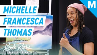 Michelle Francesca Thomas recreates Montclair, NJ in a Bob Ross Painting — The Bob Ross Challenge