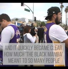 How the world reacted - Kobe Bryant