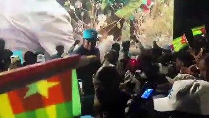 Faure Gnassingbe savoure sa victoire provisoire au Togo