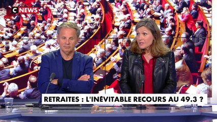 Yaël  Braun-Pivet - CNews lundi 24 février 2020