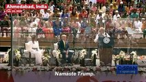 Trump Says 'America Loves India' After A Warm Welcome From India Prime Minister Modi And Crowd