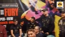 Tyson Fury v Deontay Wilder: Inside the dressing room