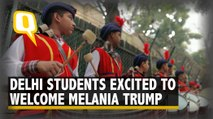 Students Excited Ahead of Melania Trump's Visit to Delhi School | The Quint