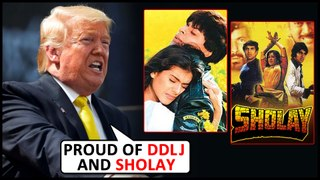 US President Donald Trumph PRAISES SRK