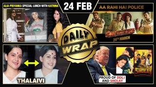 Sooryavanshi NEW Release Date, Trump On SRK, Rangoli Praises Sushmita Sen | Top 10 News