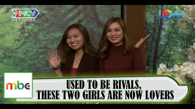 USED TO BE RIVALS, THESE TWO HOT GIRLS ARE NOW LOVERS