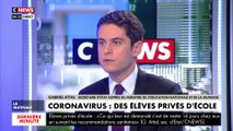 Gabriel Attal sur le coronavirus : «On suit la situation heure par heure»