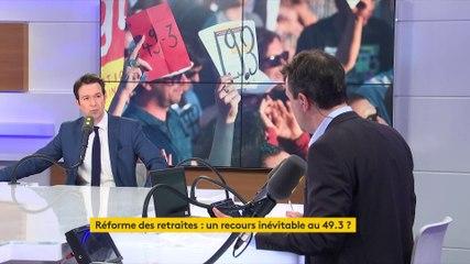 Guillaume Peltier - Franceinfo mardi 25 février 2020