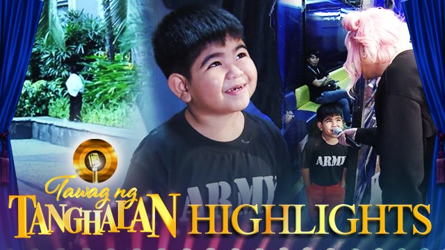 Yorme gets caught while peeing in the ABS-CBN garden | Tawag ng Tanghalan
