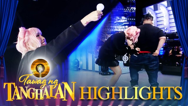 Vice plays with the light bulb that fell during a TNT contender's performance | Tawag ng Tanghalan