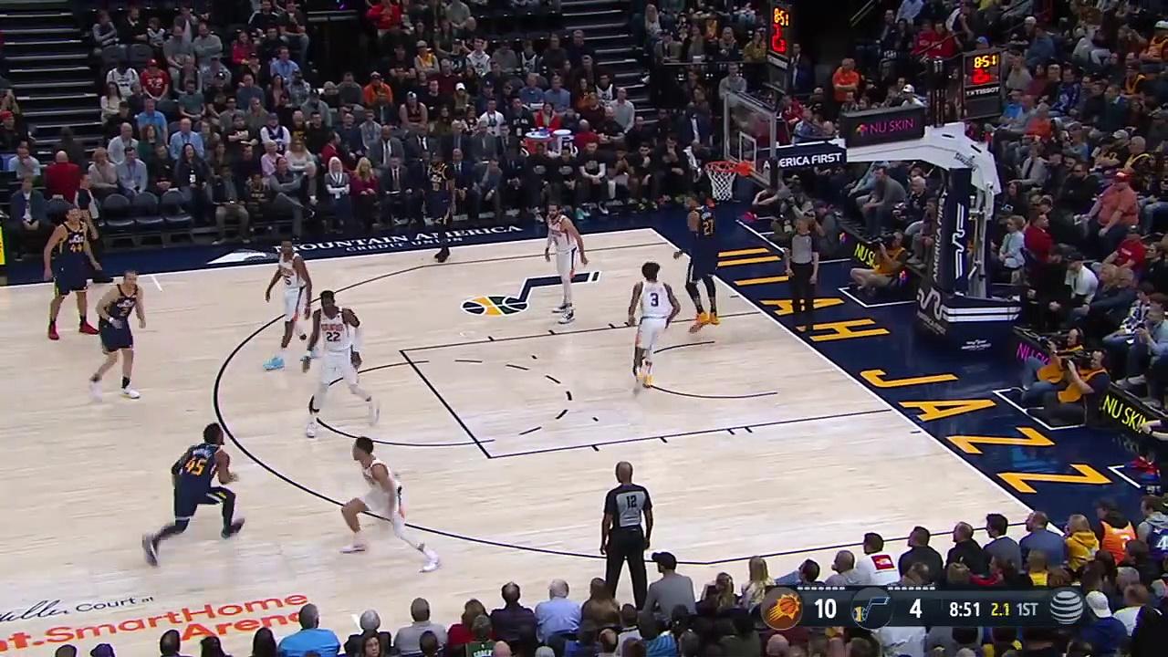 Phoenix Suns 131 - 111 Utah Jazz