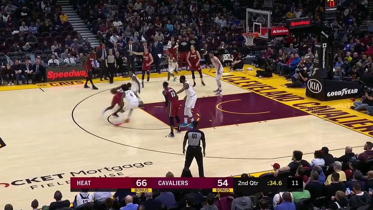 Miami Heat 119 - 125 Cleveland Cavaliers