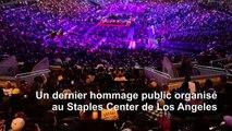 Los Angeles: des milliers de personnes rendent hommage à Kobe Bryant