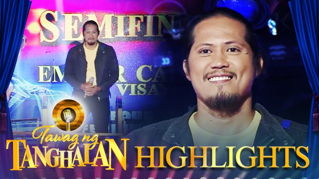 Emmar Cabilogan gets into the quarter 1 semifinals | Tawag ng Tanghalan