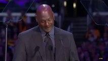 Basket-Ball - Michael Jordan Cries at Kobe Bryant Memorial Service