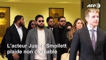 Jussie Smollett, accusé d'avoir inventé un crime, plaide non coupable