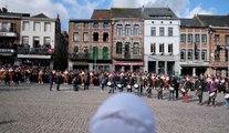 Mardi gras, grand jour du Carnaval de Binche