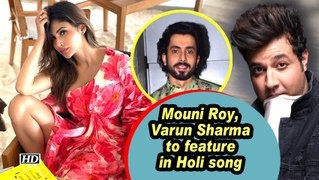 Mouni Roy, Varun Sharma to feature in Holi song
