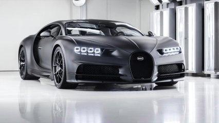 """La nouvelle Bugatti Chiron Sport """"Edition Noire Sportive"""" est prête pour ses débuts"""