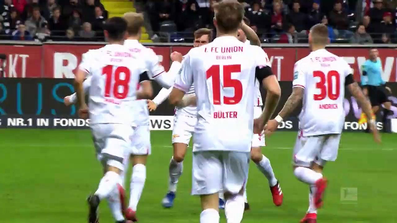 Eintracht Frankfurt - Union Berlin (1-2) - Maç Özeti - Bundesliga 2019/20