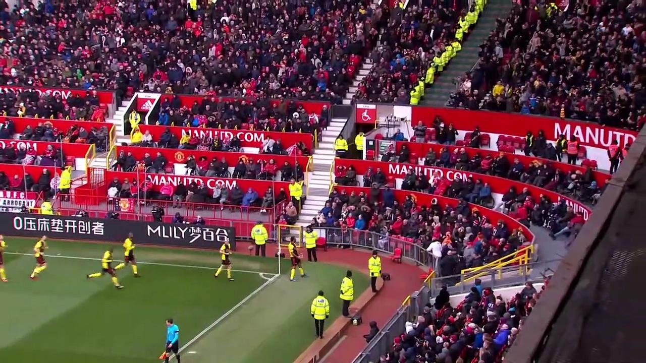 Manchester United -  Watford (3-0) - Maç Özeti - Premier League 2019/20