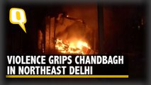 Violence Erupts in Delhi's Chandbagh Area; Rioters Set Shops on Fire