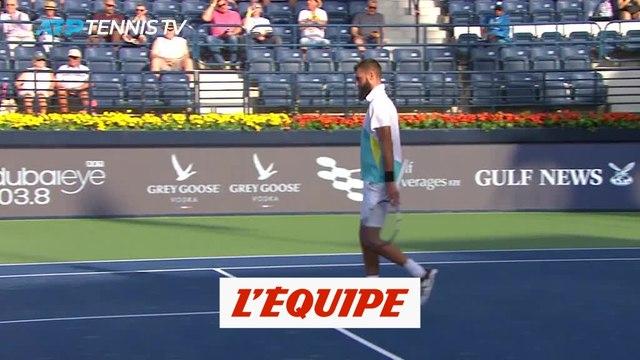 Paire souffre mais passe - Tennis - ATP - Dubaï