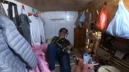 Hong Kong's 'coffin home' dwellers stuck inside amid coronavirus outbreak