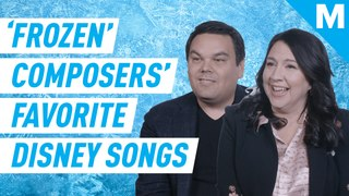 The 'Frozen' composers rank their favorite Disney songs