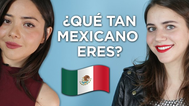 Tessa Ia y Teresa Ruiz de Narcos México en ¿Qué tan mexicano eres?