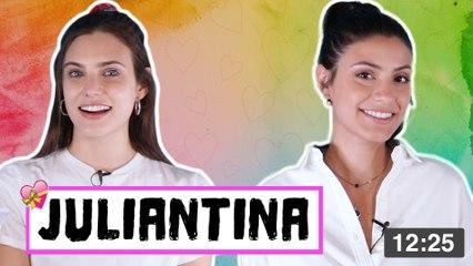 Juliantina reacciona a historias de sus fans
