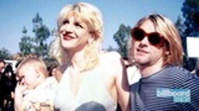 "Courtney Love Calls Late Husband Kurt Cobain an ""Angel"" On Their 28th Wedding Anniversary | Billboard News"