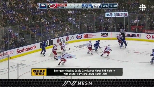 Emergency Backup Goalie David Ayres Has Taken NHL By Storm After Win