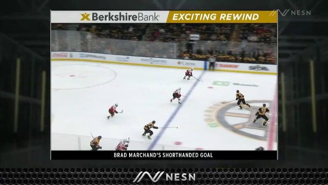 Brad Marchand Pots Shorthanded Strike To Get Bruins On Board Vs. Flames