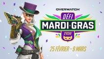 Overwatch - Évènement saisonnier  'Le défi Mardi gras d'Ashe'