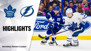Tampa Bay Lightning vs. Toronto Maple Leafs - Game Highlights