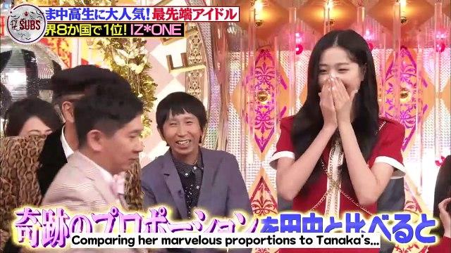 [ENG SUB] 190920 TBS BAKUHO! THE Friday - Wonyoung & Sakura Cut