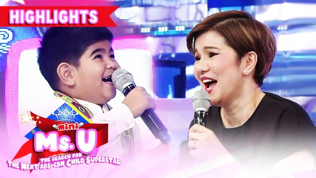 Yorme wants to be adopted by Tyang Amy | It's Showtime Mini Miss U