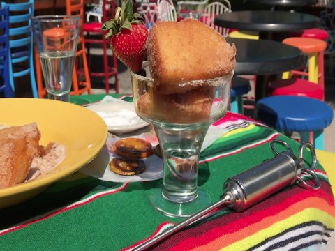 DEEP-FRIED TEQUILA! Churro dessert at Aunt Chilada's - ABC15 Digital