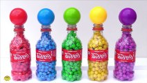 Learn Colors With Animal - Learn Colors with Coca-Cola Surprise Bottles Balls and Beads Pj Masks Surprise Toys