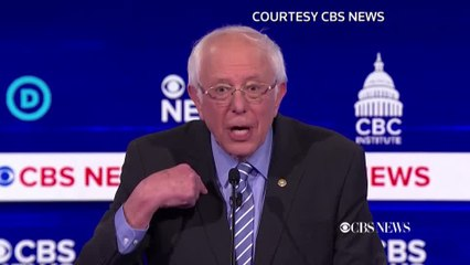"Democrat candidates call Sanders ""risky choice"""