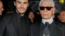 Vidéo - Baptiste Giabiconi  - le premier héritier de Karl Lagerfeld 'va se régaler'...
